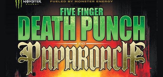 Five Finger Death Punch / Papa Roach announce Cincy Date